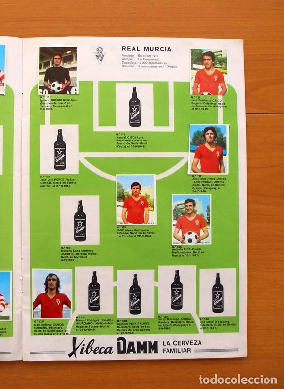 Coleccionismo deportivo: Xibeca sport - Cervezas Damm 1974 - Álbum, Los equipos de 1ª División y las 16 Selecciones de Munich - Foto 12 - 75611331