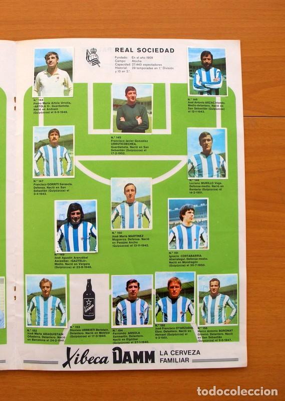 Coleccionismo deportivo: Xibeca sport - Cervezas Damm 1974 - Álbum, Los equipos de 1ª División y las 16 Selecciones de Munich - Foto 14 - 75611331