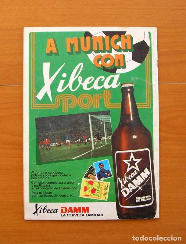 Coleccionismo deportivo: Xibeca sport - Cervezas Damm 1974 - Álbum, Los equipos de 1ª División y las 16 Selecciones de Munich - Foto 24 - 75611331