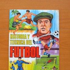 Coleccionismo deportivo: HISTORIA Y TÉCNICA DEL FÚTBOL - RUIZ ROMERO 1977. Lote 75683839