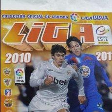 Coleccionismo deportivo: ALBUM FUTBOL LIGA 2010 2011 COLECCIONES ESTE. Lote 53811883