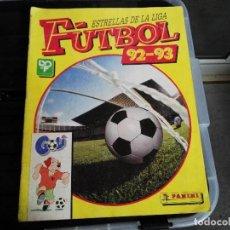 Coleccionismo deportivo: ALBUM FUTBOL ESTRELLAS DE LA LIGA 92 - 93 1992 - 1993. Lote 75791795