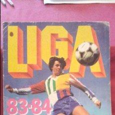 Coleccionismo deportivo: ALBUM 83-84 ESTE CASI VACÍO Y CASI PLANCHA. BUEN ESTADO. LEER. Lote 75794395