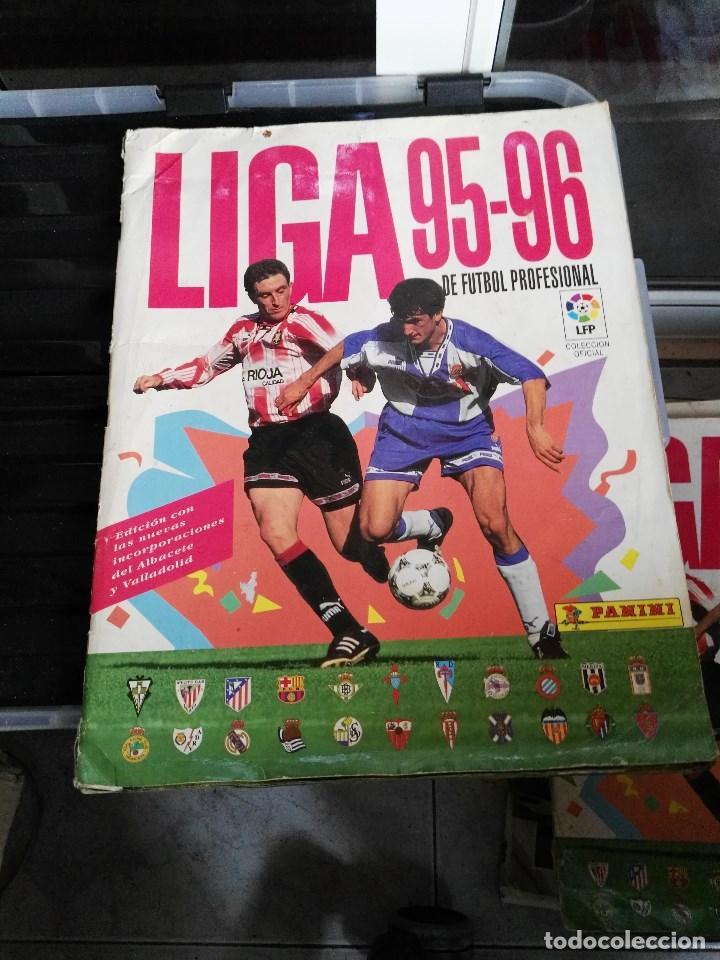 ALBUM CROMOS LIGA 95 - 96 1995 - 1996 PANINI (Coleccionismo Deportivo - Álbumes y Cromos de Deportes - Álbumes de Fútbol Incompletos)