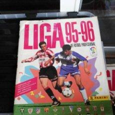 Coleccionismo deportivo: ALBUM CROMOS LIGA 95 - 96 1995 - 1996 PANINI. Lote 75794599