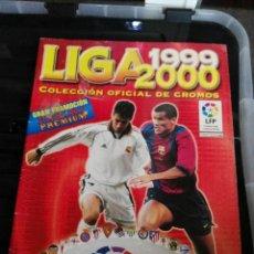 Coleccionismo deportivo: ALBUM CROMOS LIGA 99 - 00 1999 - 2000 PANINI CON 51 CROMOS. Lote 75797275