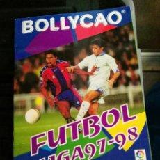 Coleccionismo deportivo: ALBUM CROMOS BOLLYCAO 97 - 98 1997 - 1998 CON 108. Lote 75864519