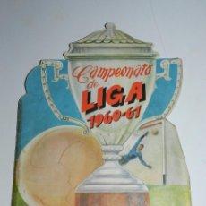 Coleccionismo deportivo: ALBUM - CAMPEONATO DE LIGA 1960 - 61 , EDT FHER , FALTAN 3 CROMOS , SEÑALES DE USO. Lote 76069671