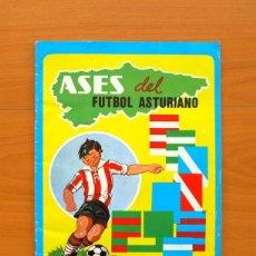 Coleccionismo deportivo: ÁLBUM ASES DEL FÚTBOL ASTURIANO - LA NUEVA ESPAÑA 1980 - VER FOTOS EN EL INTERIOR . Lote 76529175