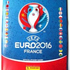 Coleccionismo deportivo: FUTBOL ALBUM INCOMPLETO EURO2016 CON 18 CROMOS. Lote 76767491