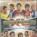 Coleccionismo deportivo: ALBUM ADRENALYN 2010/2011 CON 386 FICHAS. Lote 76936565