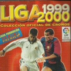 Coleccionismo deportivo: ALBUM DE LA LIGA 1999/2000 DE PANINI CON 31 CROMOS. Lote 76937257