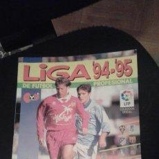 Coleccionismo deportivo: ALBUM DE CROMOS DE FUTBOL PLANCHA LIGA 94 - 95 1994 - 1995 // VACÍO Y NUEVO //. Lote 77495905