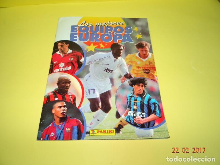 Coleccionismo deportivo: Album de Futbol * LOS MEJORES EQUIPOS DE EUROPA * 1996 - 1997 de PANINI - Foto 2 - 77844613