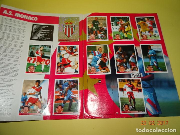 Coleccionismo deportivo: Album de Futbol * LOS MEJORES EQUIPOS DE EUROPA * 1996 - 1997 de PANINI - Foto 4 - 77844613