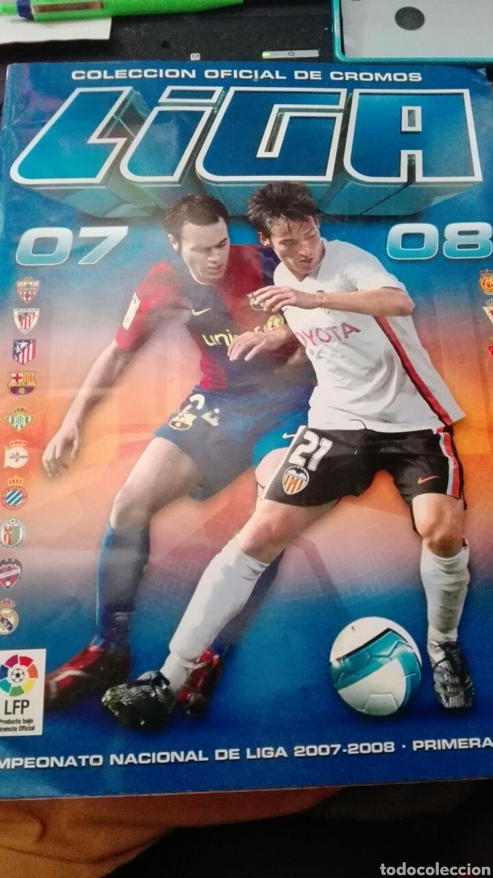ÁLBUM LIGA 07-08 ESTE COMPLETO (Coleccionismo Deportivo - Álbumes y Cromos de Deportes - Álbumes de Fútbol Incompletos)
