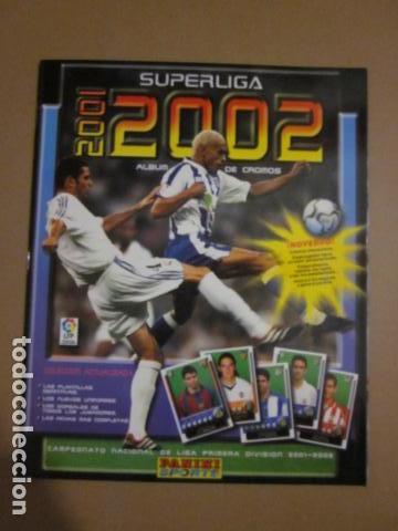 SUPERLIGA 2001 2002 ALBUM NUEVO VACIO PANINI (Coleccionismo Deportivo - Álbumes y Cromos de Deportes - Álbumes de Fútbol Incompletos)