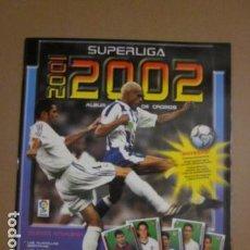 Coleccionismo deportivo: SUPERLIGA 2001 2002 ALBUM NUEVO VACIO PANINI. Lote 78029717