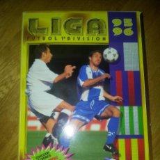 Coleccionismo deportivo: ALBUM DE CROMOS EDICIONES ESTE LIGA TEMPORADA 1995 1996 95 96 VACIO. Lote 79096949