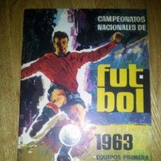 Coleccionismo deportivo: ALBUM FUTBOL CAMPEONATOS NACIONALES 1963 VACIO RUIZ ROMERO. Lote 79102297