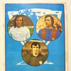 Coleccionismo deportivo: ALBUM 1975 1976 CAMPEONATO DE LIGA 75 76 FINI. CRUYFF AYALA NETZER. FALTAN POCOS.. Lote 79115077
