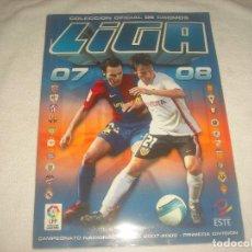 Coleccionismo deportivo: LIGA 2007 2008 . PRIMERA DIVISIÓN . COLECCIONES ESTE .INCOMPLETO. Lote 79238945