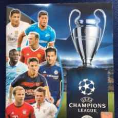 Coleccionismo deportivo: ALBUM INCOMPLETO UEFA CHAMPIONS LEAGUE 2015 2016 TOPPS A FALTA DE 70 CROMOS BUEN ESTADO. Lote 80126413