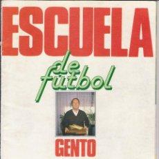 Coleccionismo deportivo: ALBUM ESCUELA DE FUTBOL GENTO AS 1991 92 CON 50 CROMOS. Lote 80349969