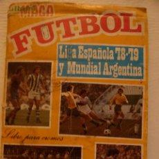Coleccionismo deportivo: ALBUM FUTBOL MAGA 1978 1979 78 79 - ALBUM IMCOMPLETO. Lote 80430785