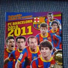 Coleccionismo deportivo: ALBUM DE CROMOS VACIO FC BARCELONA 2010 2011 PANINI. Lote 80701462