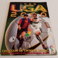 Coleccionismo deportivo: ALBUM DE CROMOS FUTBOL CAMPEONATO NACIONAL 1999 - 2000 PRIMERA DIVISIÓN ESTE. Lote 80708194