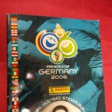 Coleccionismo deportivo: ALBUM DE CROMOS. FIFA WORLD CUP. GERMANY 2006. PANINI. INCOMPLETO. CON 397 CROMOS. Lote 81044032