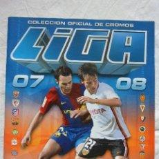 Coleccionismo deportivo: ALBUM CROMOS ESTE LIGA 07/08 VACÍO PLANCHA. Lote 81191864
