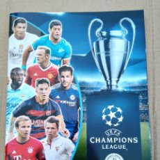 Coleccionismo deportivo: UEFA CHAMPIONS LEAGUE : OFFICIAL STICKERS COLLECTION : SEASON 2015-16 (ÁLBUM INCOMPLETO). Lote 82218124
