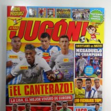 Coleccionismo deportivo: REVISTA JUGON Nº 122 - NUEVA - VACÍA. Lote 85718703