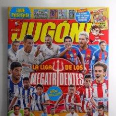 Coleccionismo deportivo: REVISTA JUGON Nº 123 - NUEVA - VACÍA. Lote 82298660