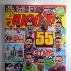 Coleccionismo deportivo: REVISTA JUGON Nº 124 - NUEVA - VACÍA. Lote 83997024