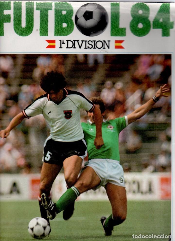 FÚTBOL 83-84 - 1ª DIVISIÓN - CROMOS CANO 84 VACIO ¡¡¡OJO!!! (Coleccionismo Deportivo - Álbumes y Cromos de Deportes - Álbumes de Fútbol Incompletos)