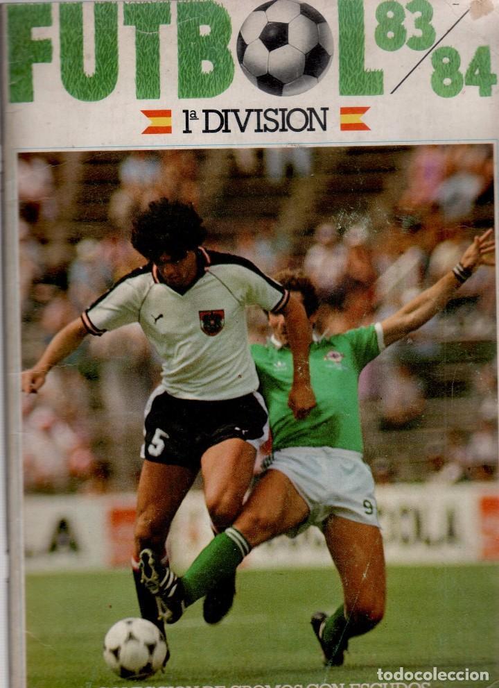 Coleccionismo deportivo: FÚTBOL 83-84 - 1ª DIVISIÓN - CROMOS CANO 84 VACIO ¡¡¡OJO!!! - Foto 2 - 82363416