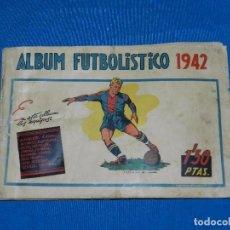 Coleccionismo deportivo: ALBUM FUTBOLISTICO 1942 EDT CISNE 1942 , FALTAN 26 CROMOS, VER FOTOGRAFIAS ADICIONALES. Lote 82545364