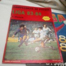 Coleccionismo deportivo: ALBUM PLANCHA NUEVO Y VACIO DE LA LIGA 1983-84 DE MERCHANTE. Lote 82677272