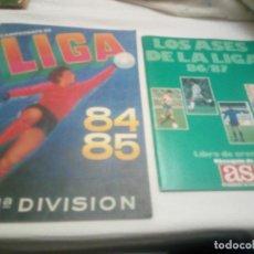 Coleccionismo deportivo: ALBUM DE LA LIGA 1984-85 DE CROMOS CANO PLANCHA NUEVO Y VACIO+ REGALO. Lote 82677348