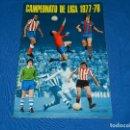Coleccionismo deportivo: ALBUM CAMPEONATO DE LIGA 1977 / 78 , EDT DISGRA , ALBUM VACIO PLANCHA , MUY BUEN ESTADO. Lote 82717520