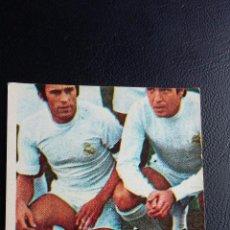 Coleccionismo deportivo: FÚTBOL 75/76 - EDICIONES VULCANO - 7 REAL MADRID ( NUNCA PEGADO ). Lote 82880788