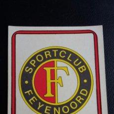 Coleccionismo deportivo: FÚTBOL 75/76 - EDICIONES VULCANO - 316 ESCUDO FEYENOORD - ( NUNCA PEGADO ). Lote 82897032