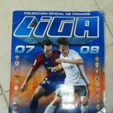 Coleccionismo deportivo: ALBUM CROMOS LIGA ESTE 2007 - 2008 07 - 08 CON 500 CROMOS. Lote 83493060