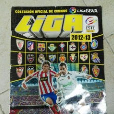 Coleccionismo deportivo: ALBUM CROMOS LIGA ESTE 2012 - 2013 12 - 13 CASI VACÍO. Lote 83494704