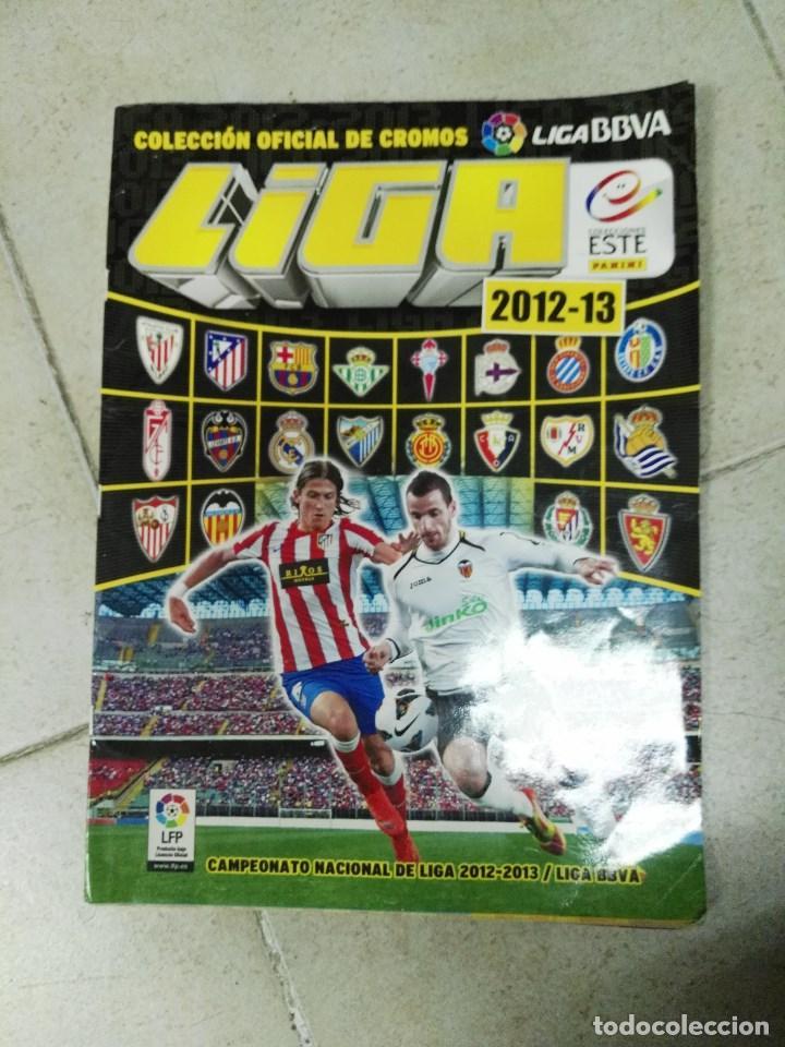 ALBUM CROMOS LIGA ESTE 2012 - 2013 12 - 13 CON 282 (Coleccionismo Deportivo - Álbumes y Cromos de Deportes - Álbumes de Fútbol Incompletos)