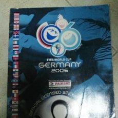 Coleccionismo deportivo: ALBUM CROMOS MUNDIAL ALEMANIA 2006 CON 127. Lote 83565208