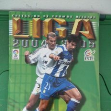 Coleccionismo deportivo: ALBUM LIGA 2004 - 2005 - COLECCIONES ESTE. Lote 83679180